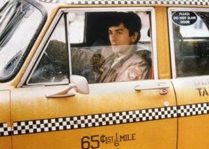 """Robert De Niro en """"Taxi Driver"""" de Scorsese"""